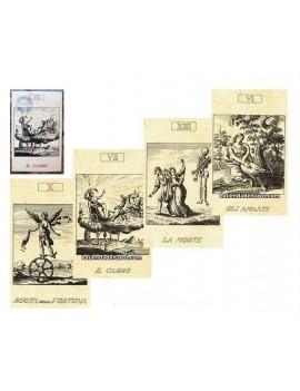 """Tarocchi 22 Arcani segle XVIII """"Colección"""""""