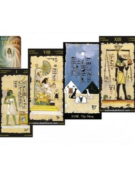 Egyptian Tarot (Giant) 22...