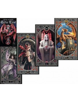 """Gothic Tarot by """"Anne Stokes"""""""