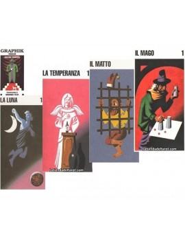Tarot Graphik 22 Arcanos...