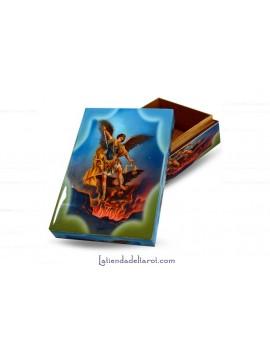 Caja Tarot Madera Arcangel...
