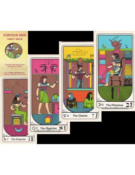 Egyptians Kier Tarot deck...