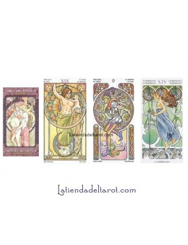 Tarot art Nouveau 22 Major...