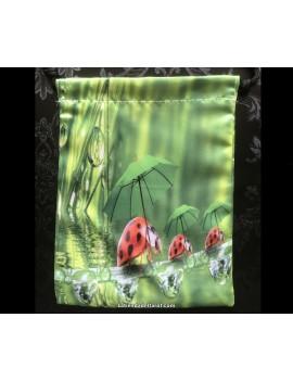 Green Nature tarot bag...