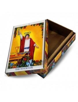 """Tarot Wood Box Wizard """"Last..."""