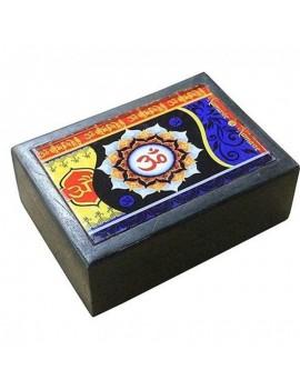 """Box Tarot Wood Om """"Latest..."""