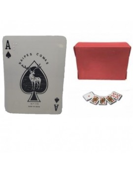"Baraja Poker Braille Cards ""Last Units"""