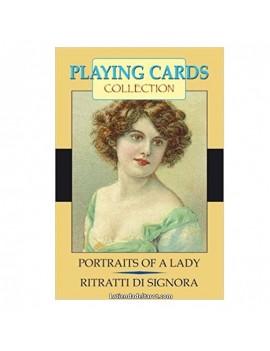 """Lady Portrait Letters """"Last..."""