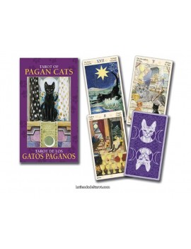 Mini Tarot of pagan Cats