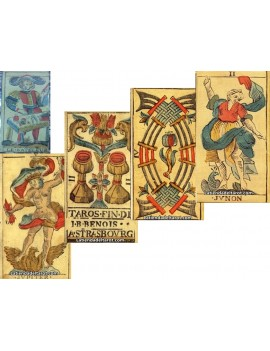 """Tarocco di Besançon Sec. XVIII - 2ª Edicion """"Colección"""""""