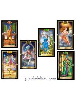 "Tarot Gilded ""Card Deck""..."